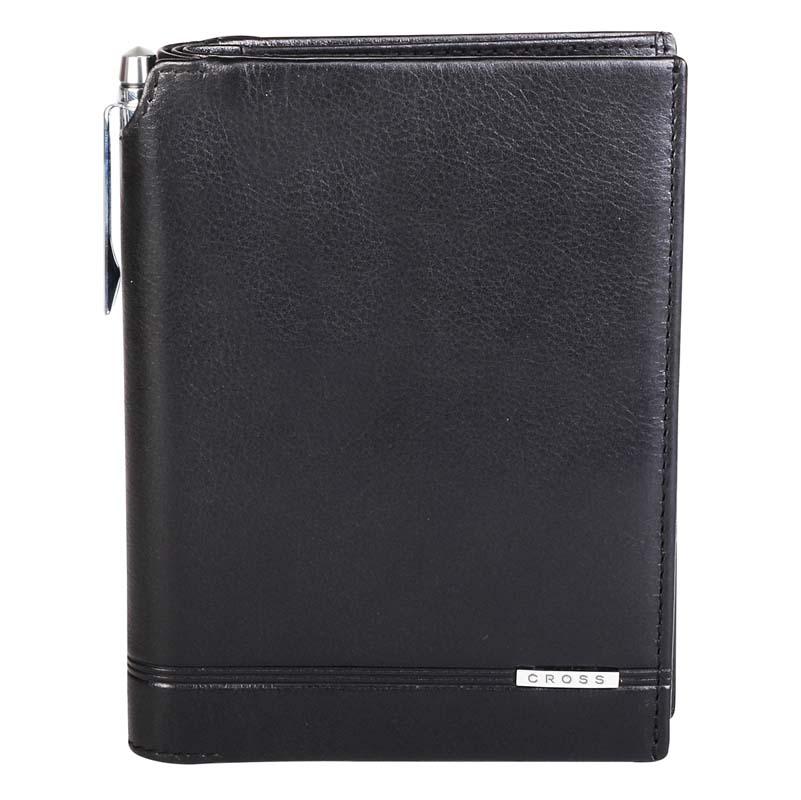 Купить Кошелёк с отделением для паспорта и ручка Classic Century CROSS AC018173-1, Черный