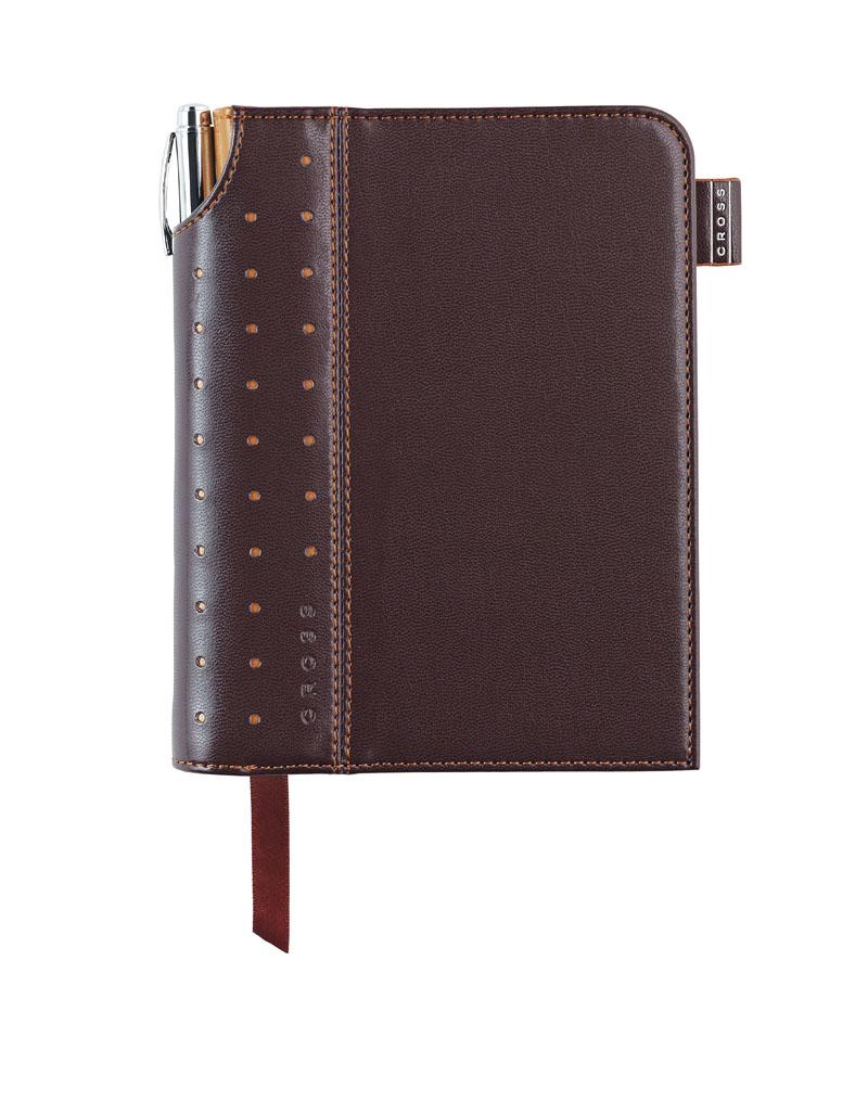 Купить Записная книжка малая с ручкой CROSS AC236-2S, Коричневый, Journal Signature