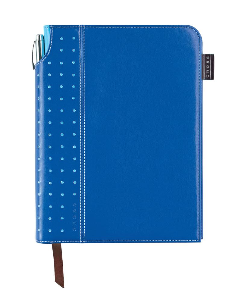 Купить Записная книжка средняя с ручкой CROSS AC236-5M, Синий, Journal Signature
