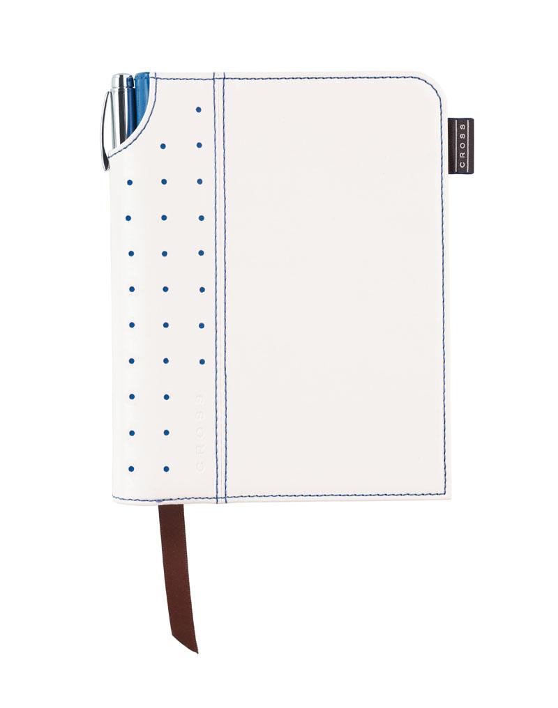 Купить Записная книжка малая с ручкой CROSS AC236-6S, Белый, Journal Signature