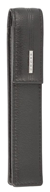 Купить Кожаный чехол для ручки одинарный CROSS AC259-1, Чехол для ручки, Черный