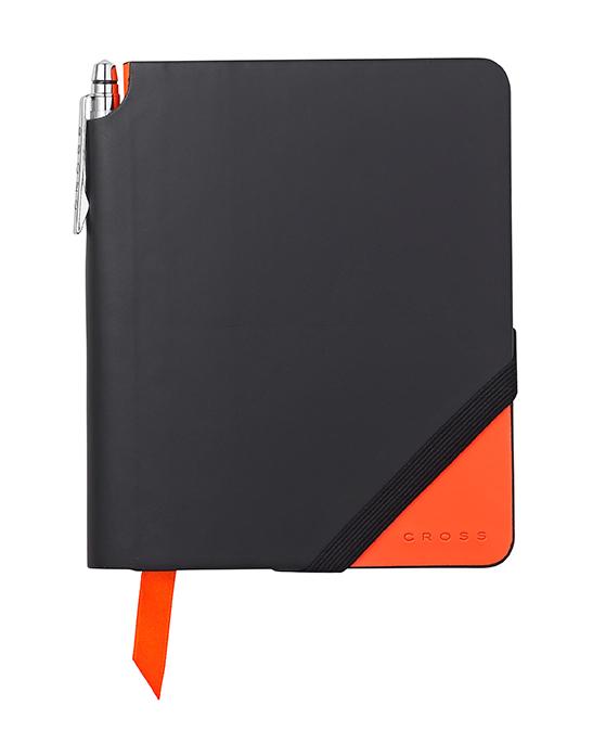 Купить Записная книжка малая с ручкой CROSS AC273-1S, Оранжевый, Jot Zone