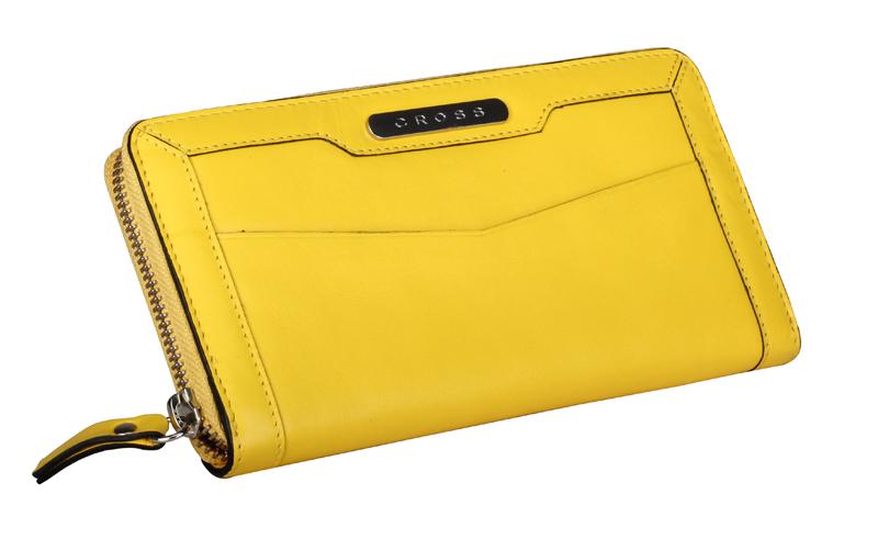 Купить Кошелёк Color Time CROSS AC508087-8, Желтый