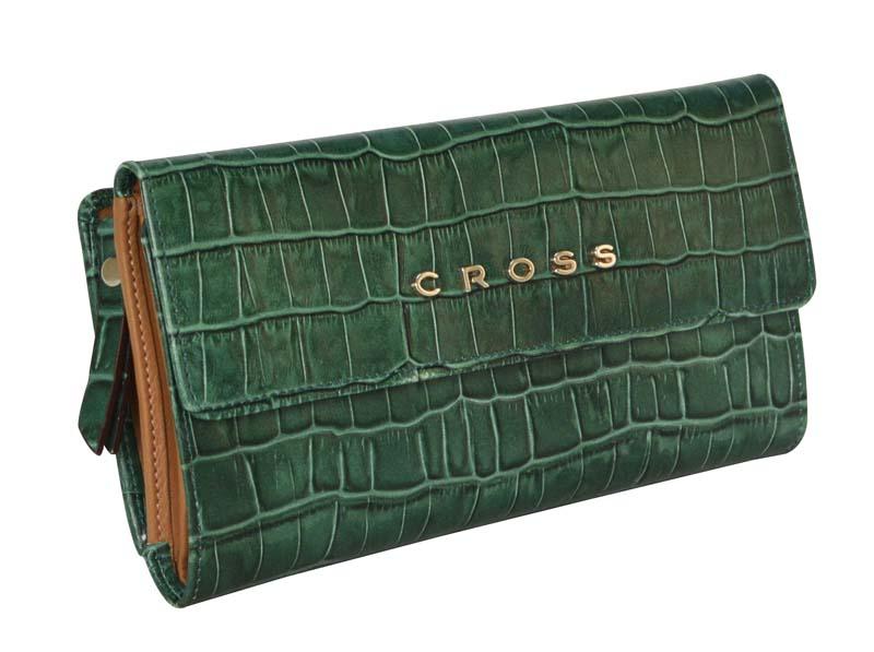 Купить Кошелёк Bebe Coco CROSS AC578302-4, Зеленый