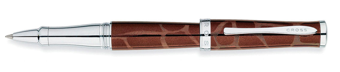 Купить Ручка-роллер CROSS AT0315-4, Коричневый, Sauvage