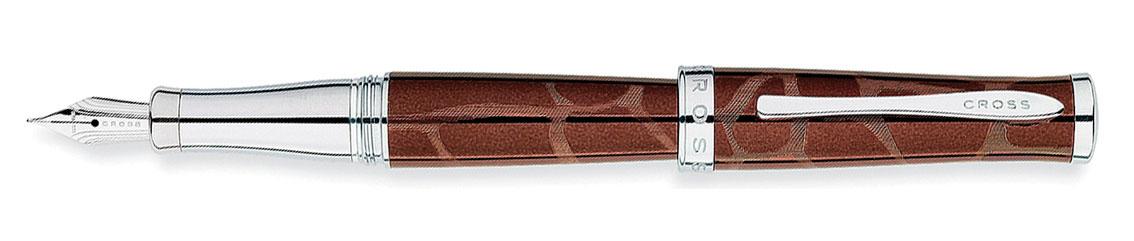 Купить Ручка перьевая CROSS AT0316-4FD, Коричневый, Sauvage