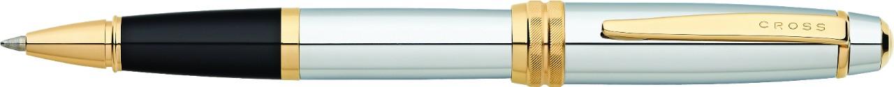 Купить Ручка-роллер CROSS AT0455-6, Серебристый, Bailey