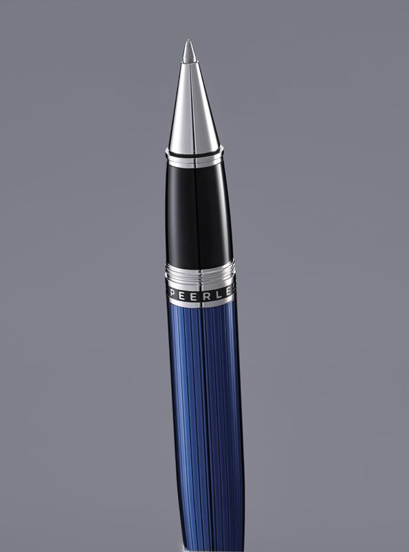 Купить Ручка-роллер CROSS AT0705-14, Синий, Peerless