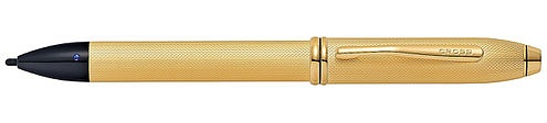 Ручка-стилус с электронным кончиком<br/>Townsend® Electronic Stylus Brushed 23K Gold Plate<br/>AT0049-42