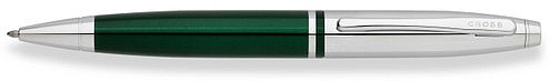 Ручка шариковая<br/>Calais™ Chrome / Green Lacquer<br/>AT0112-7