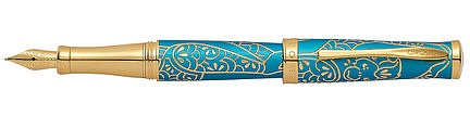 Ручка перьевая<br/>Zodiac - Year of the Monkey Brushed Teal Lacquer<br/>AT0316-22MD