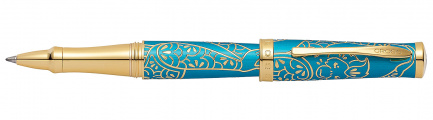 Ручка-роллер Year of the Monkey<br/>Chinese Zodiac Brushed Teal Lacquer<br/>AT0315-22
