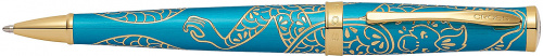 Ручка шариковая Year of the Monkey<br/>Chinese Zodiac Brushed Teal Lacquer<br/>AT0312-22
