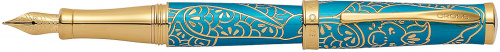 Ручка перьевая Year of the Monkey<br/>Chinese Zodiac Brushed Teal Lacquer<br/>AT0316-22MD